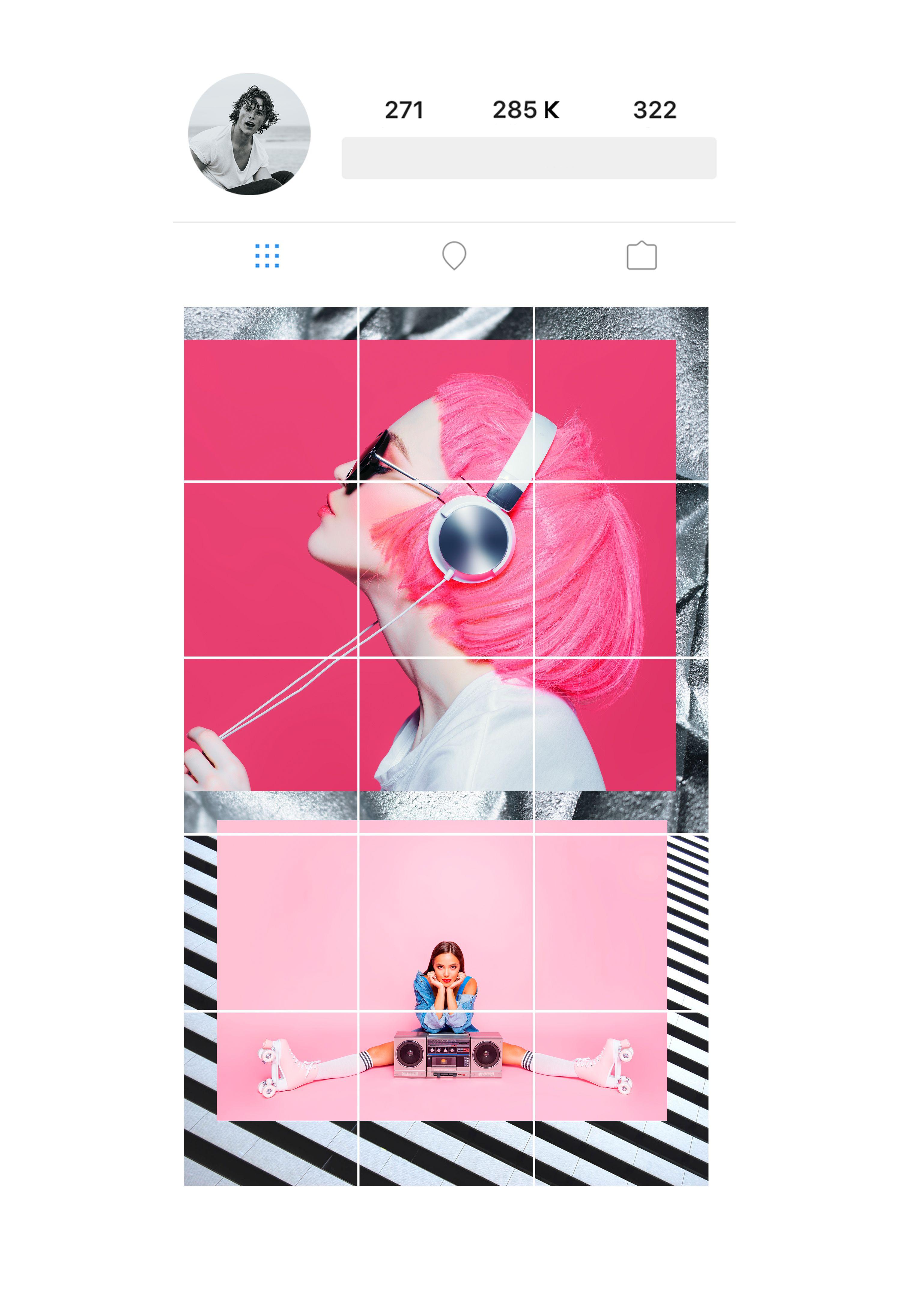 An Instagram Feed Design Idea That You Can Use For Inspiration And