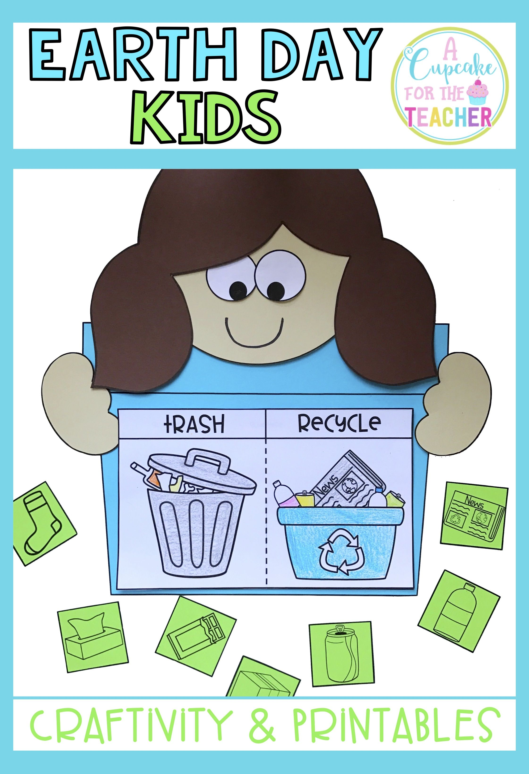 Earth Day Kids {Craftivity & Printables}