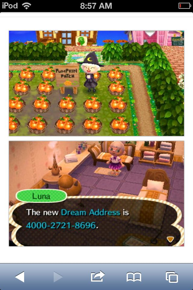 Really Good Halloween Dream Code Animal Crossing 3ds Animal