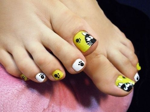 Easy toenail designs do it yourself nails pinterest easy toe nail designs easy toenail designs do it yourself solutioingenieria Image collections