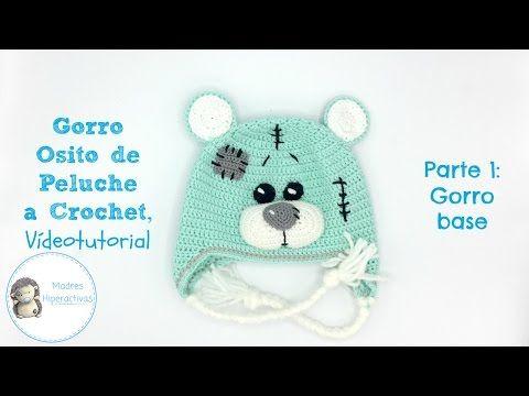 Gorro Búho a Crochet, Vídeo Tutorial - YouTube | Crochet | Pinterest ...