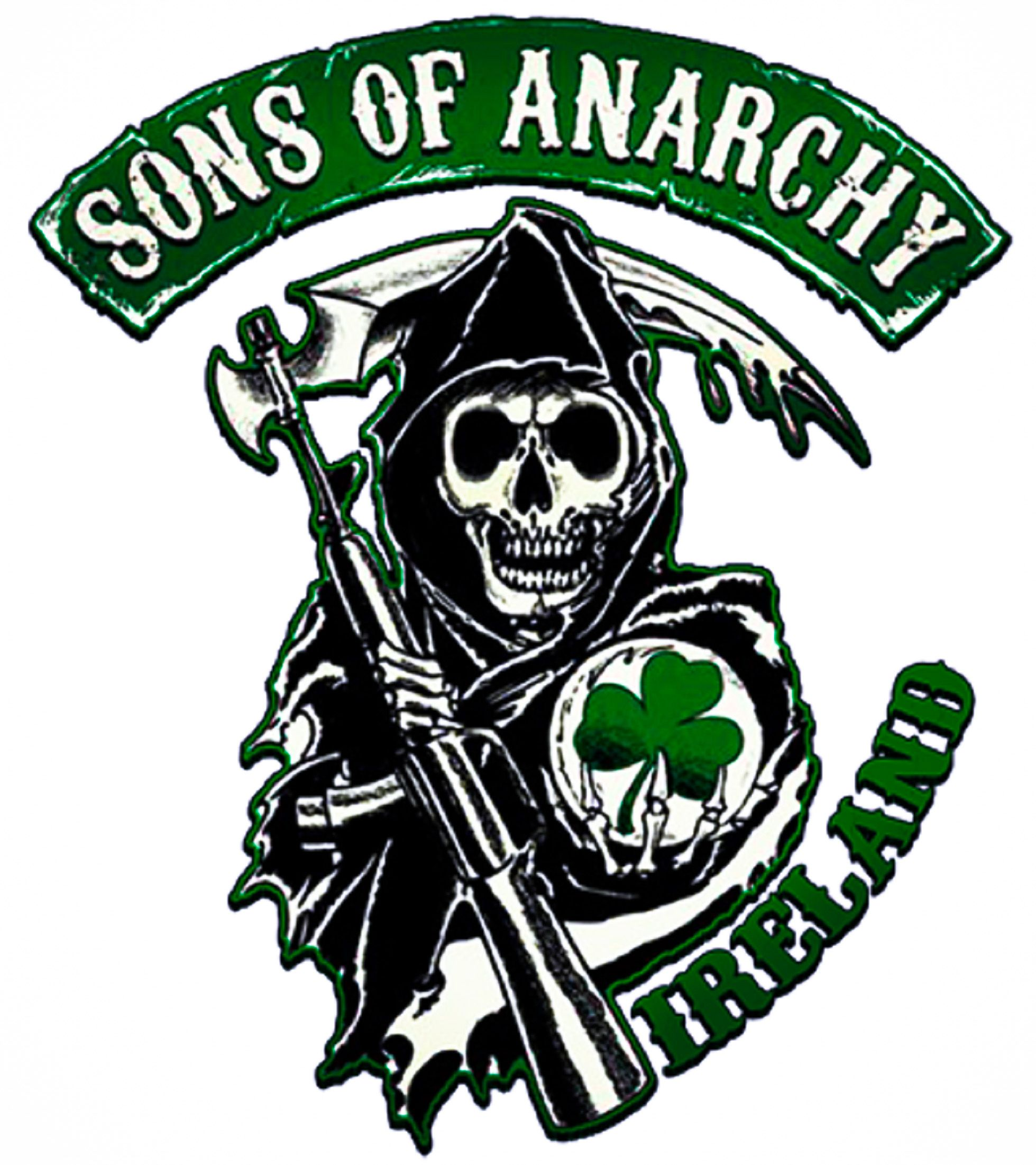 sons of anarchy motorcycle club located in belfast. Black Bedroom Furniture Sets. Home Design Ideas