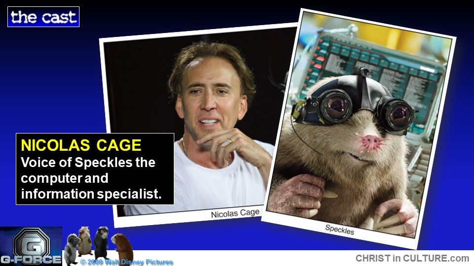 Pin By Thread Of Truth On G Force Nicolas Cage G Force It Cast