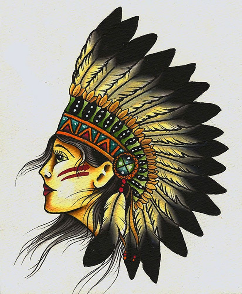 Getting A Native American Indian Tattoo The Trouble With - 825×1001