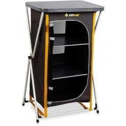 Camping Cupboards Folding Camping Cupboard Camp And Climb In 2020 Cupboard Shelves Locker Storage