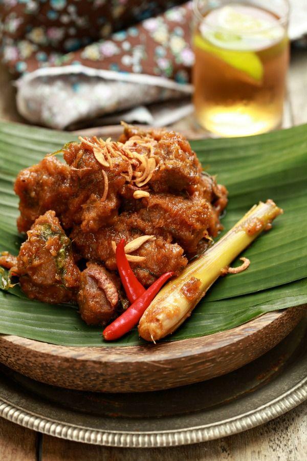Masam Manis Rendang Daging Minang Yang Mudah Ringkas Dan Seda Masakan Asia Resep Masakan Malaysia Resep Masakan Asia