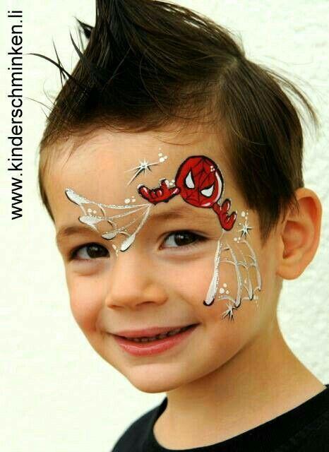 Pin von Irina Riss auf Kisch Jungs | Face painting for ...