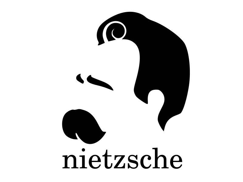 FRIEDRICH NIETZSCHE THINKING Vinyl Decal Car Wall Sticker CHOOSE SIZE