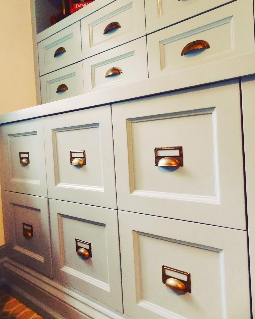 We Designed And Built These Custom Drawers To Look Like
