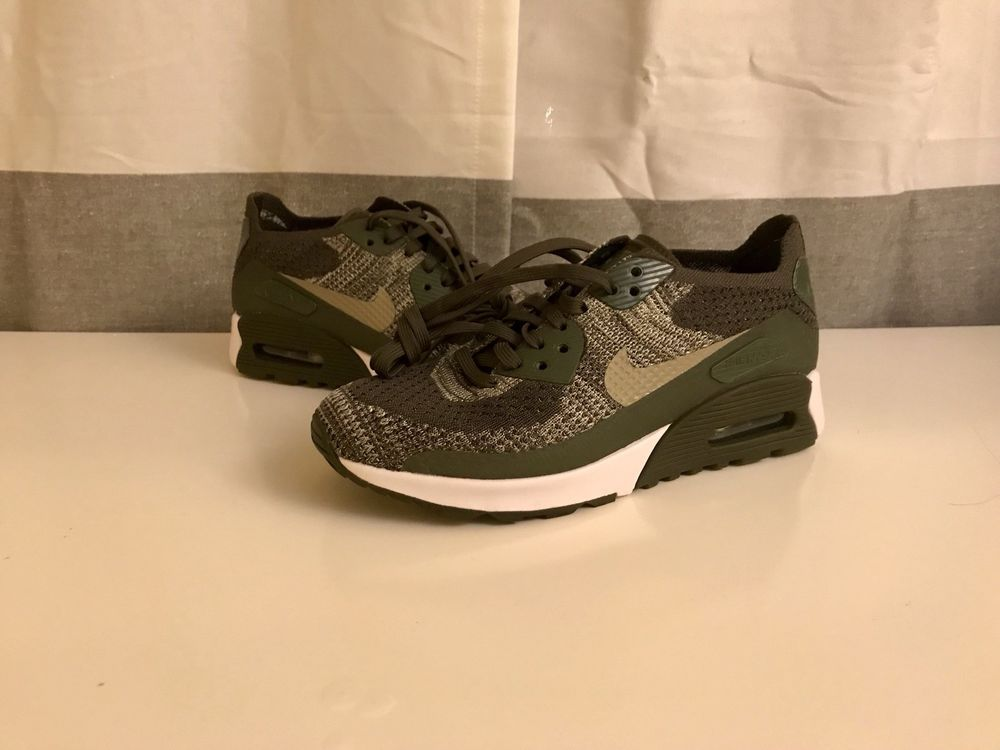 official photos c5496 c0a27 NIKE WOMEN S AIR MAX 90 ULTRA FLYKNIT SHOES khaki olive 881109 300 MSRP   160  fashion  clothing  shoes  accessories  womensshoes  athleticshoes  (ebay link)
