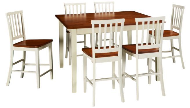 Intercon - Arlington - 7 Piece Dining Set - Jordan\'s Furniture ...