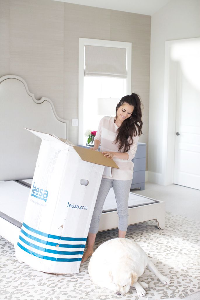 Master Bedroom Upgrades in my master with leesa   ..my home..   pinterest   mattress