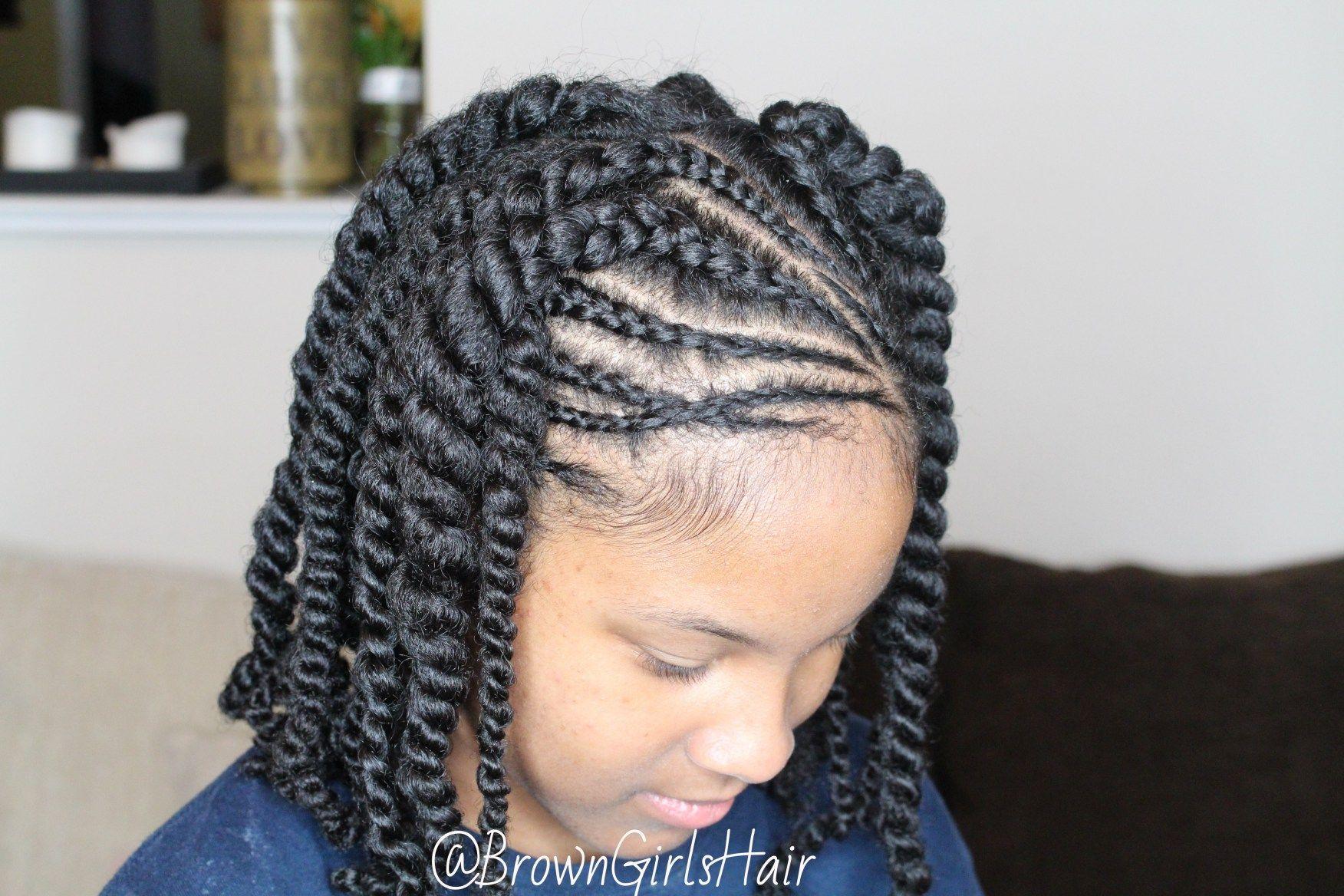 Natural Long Black Hair Care And Fashion Blog Kids Hairstyles