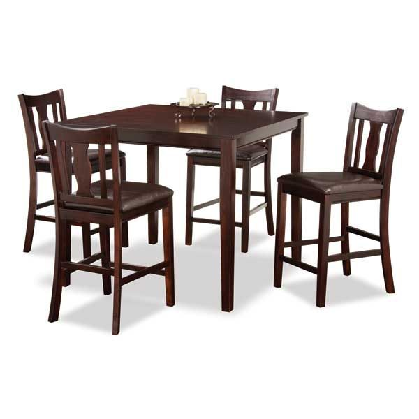 Kyle 5 Piece Counter Height Set Wf2 8pub 5pc Dining Room Sets