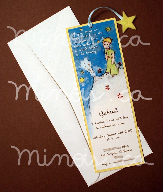 Minois Little Prince Invitation Simpler Version Nico S
