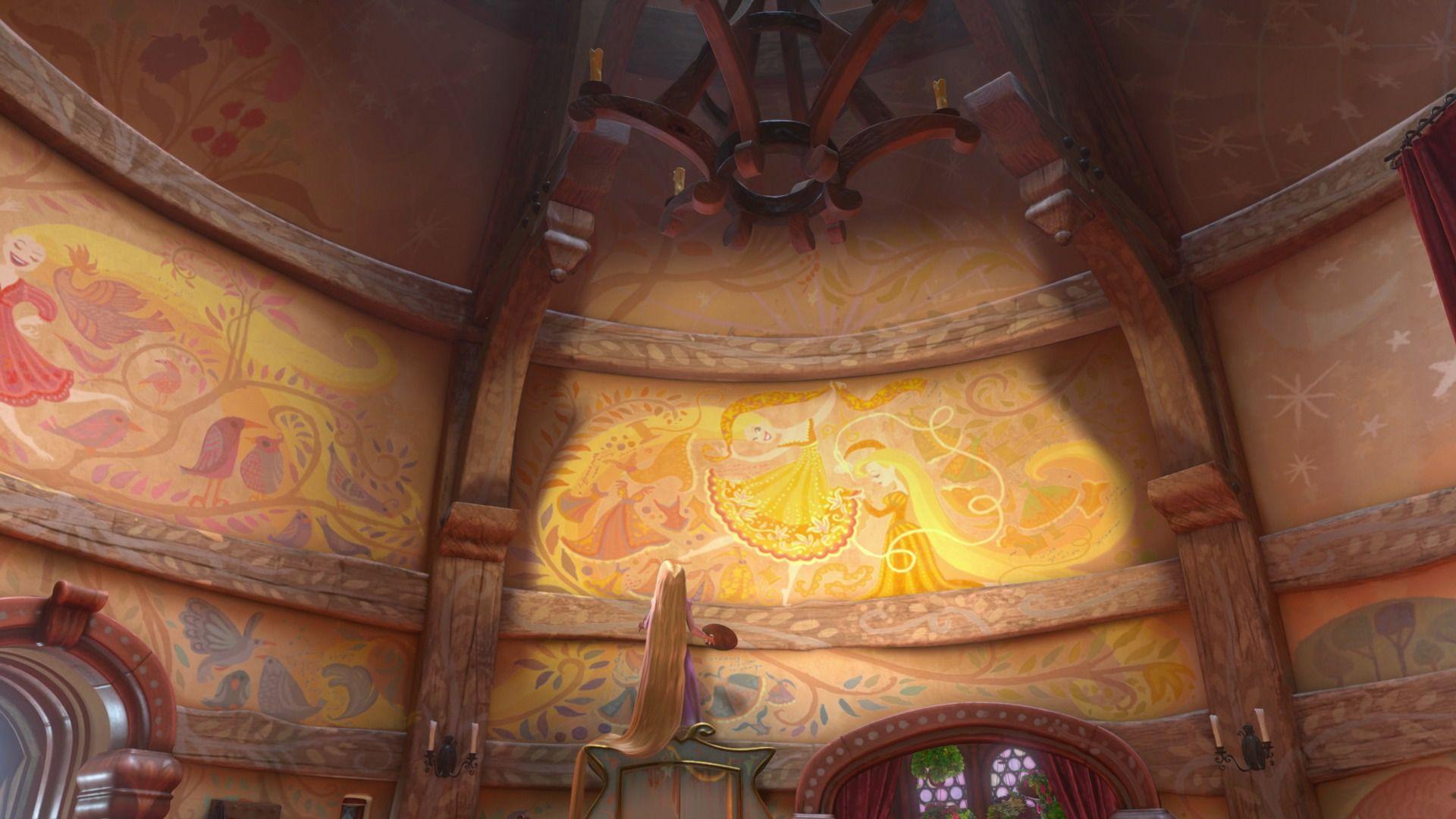 Tangled 2010 Disney Screencaps Com Rapunzel Tower Rapunzel Room Tangled