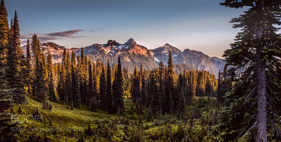 Mountain Glow By Lucas01 Landscapes Landscapephotography Nature Travel Photography Pictureoftheday Photooftheday Photoofthewe Mountains Mount Rainier National Park Places To See