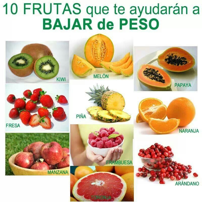 Fruta para bajar de peso saludable pinterest bajar - Alimentos para perder peso ...