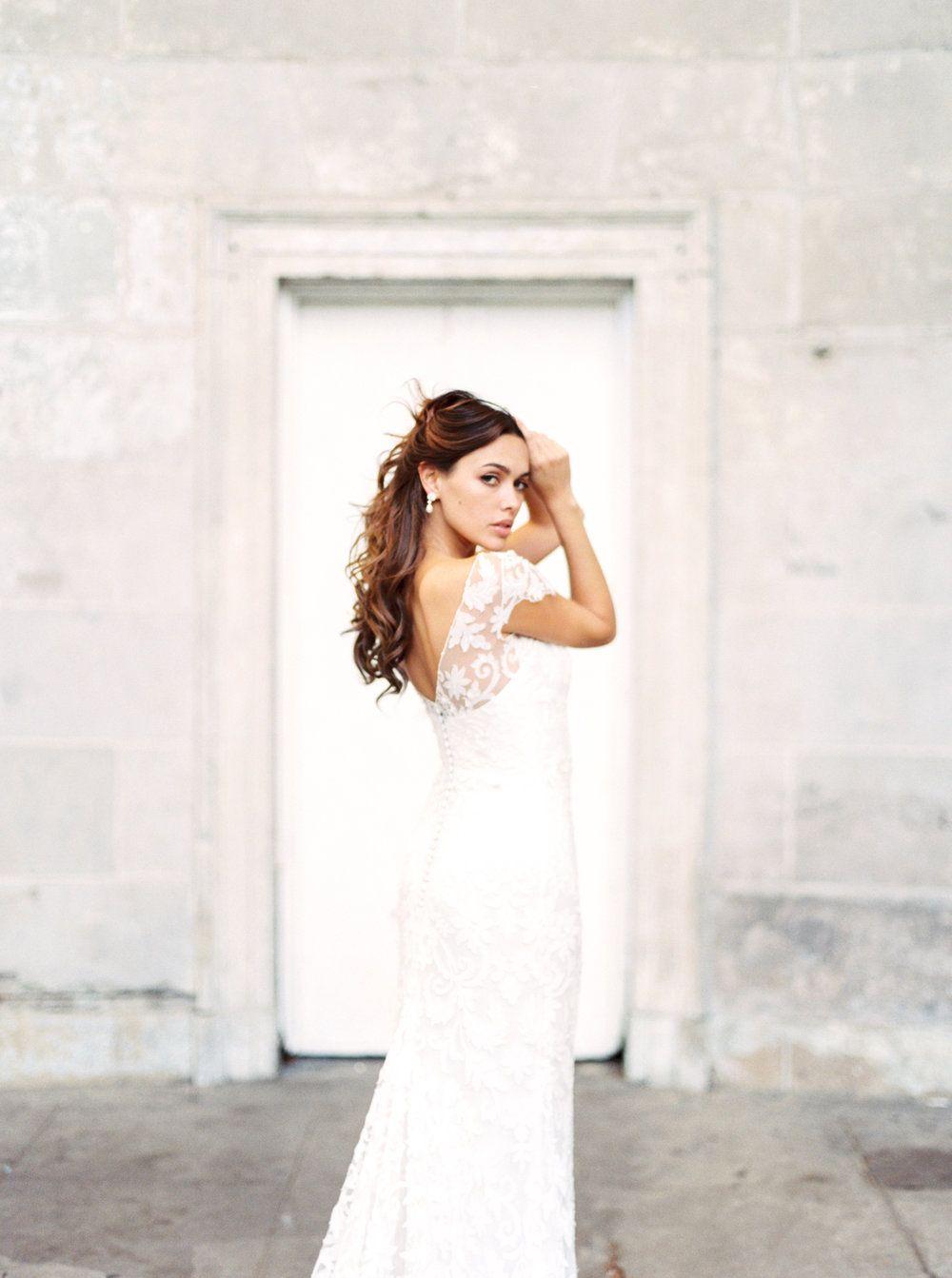 Anna Campbell Botanical Lace Windsor Dress | wedding dress ...