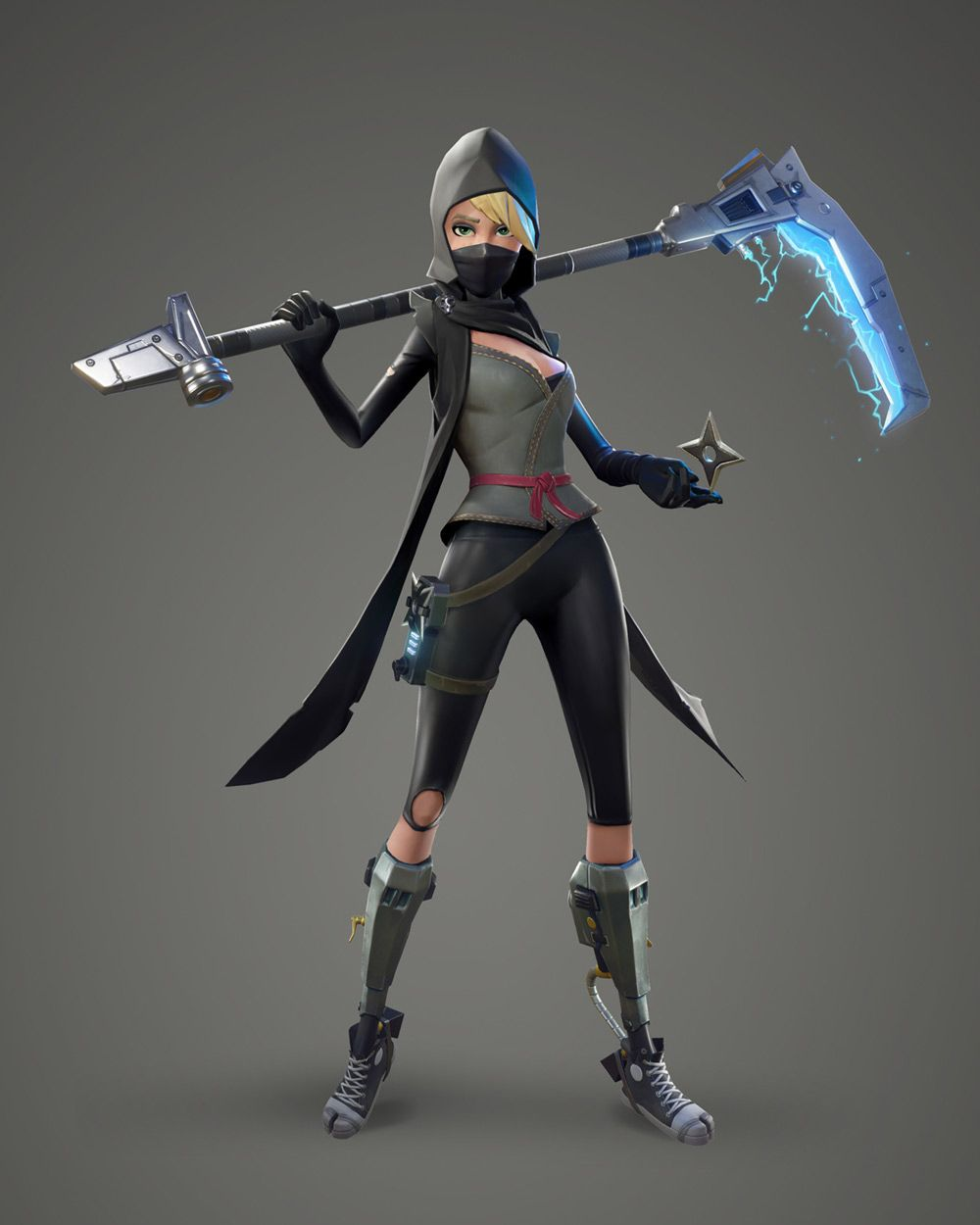 Female Ninja From Fortnite Character Design Pinterest Female