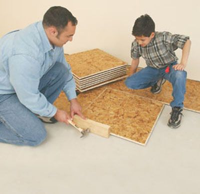 Insulating A Basement Floor Extreme How To Basement Flooring Basement Subfloor Basement Floor Insulation