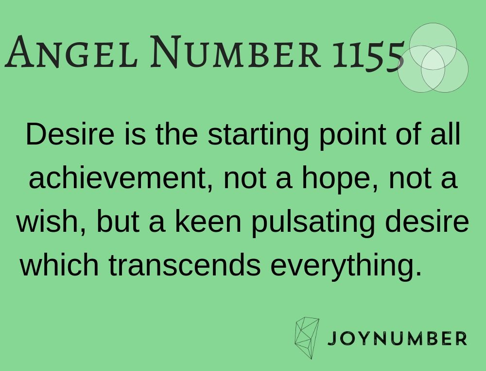 1155 Angel Number Finding Your True Heart S Desires And Soul