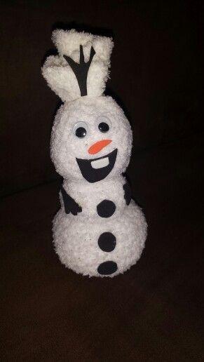 olaf der schneemann aus einer socke gebastelt weihnachten basteln pinterest. Black Bedroom Furniture Sets. Home Design Ideas