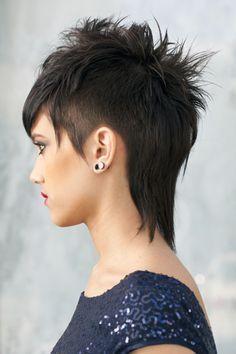 choppy hair i cut punk rock - Google Search   short hairstyle ...