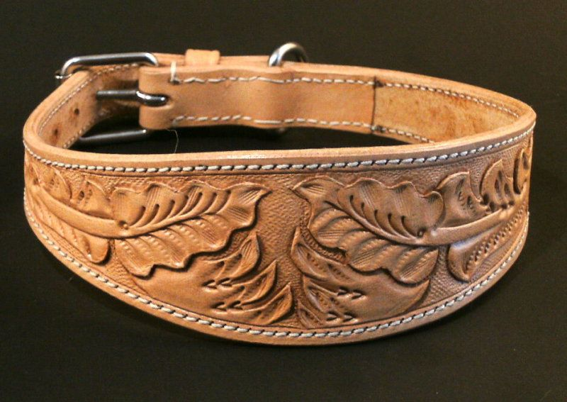Painted Plumes 1 1//2 Inch Custom Made Martingale Dog Collar