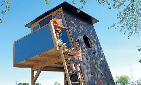 kletterhaus kletterwand spielhaus f r kinder und kinderspielhaus. Black Bedroom Furniture Sets. Home Design Ideas