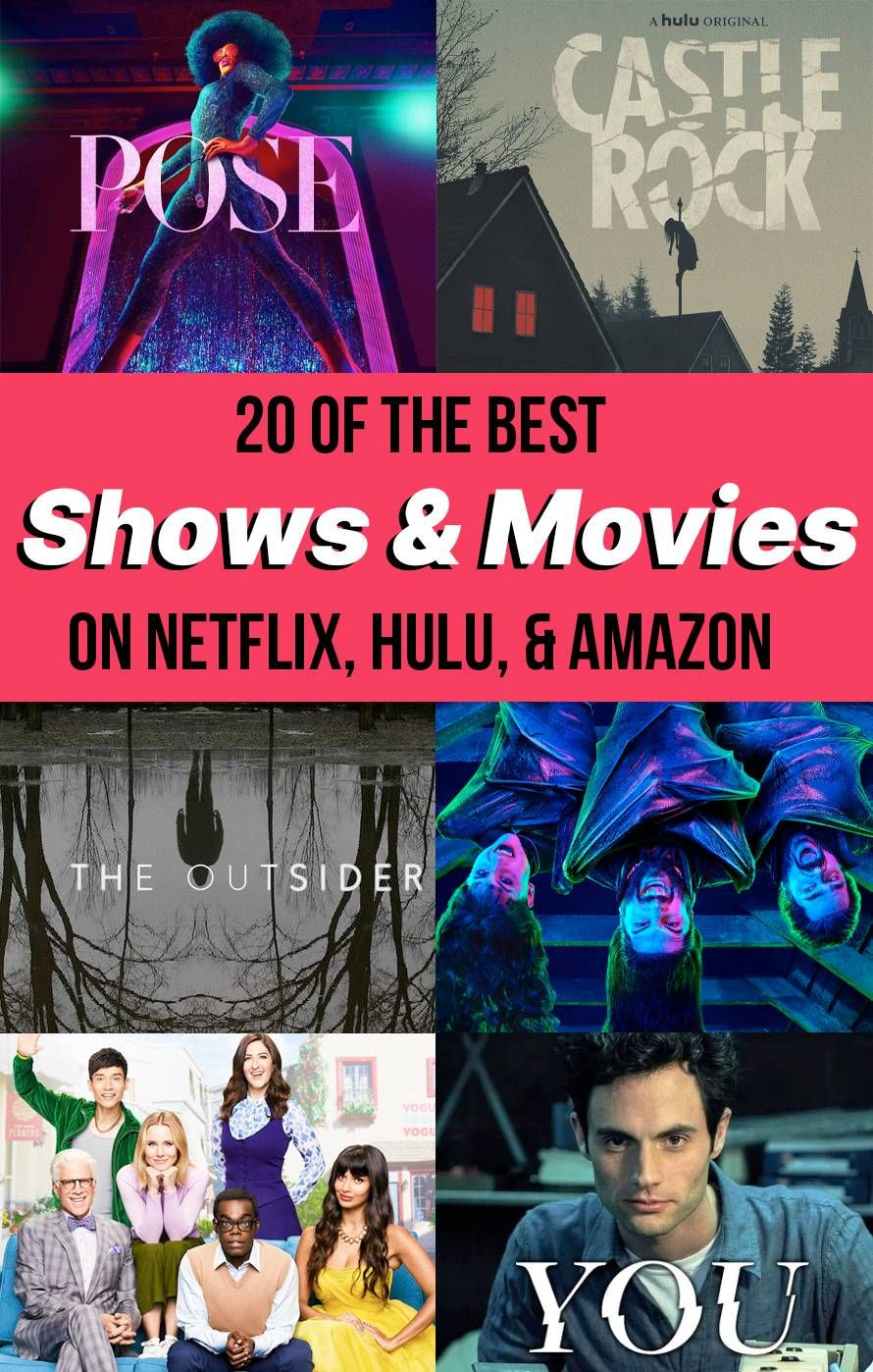 20 Best TV Shows (And Movies!) To Watch On Netflix, Hulu, Amazon Prime &  HBO During Winter 2020 in 2020 | Hulu tv shows, Best tv shows, Movies to  watch