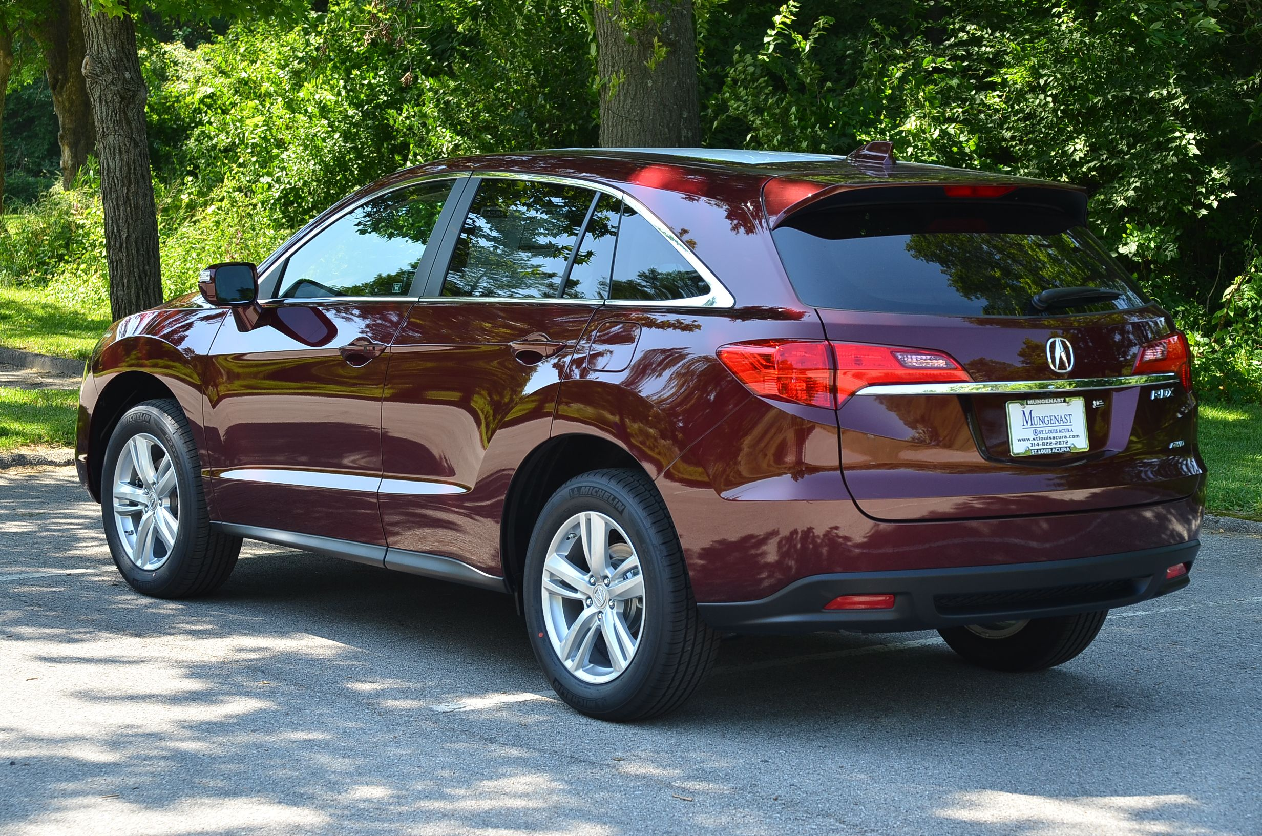 over rdx red at ii acura parchment basque leather pearl in pin
