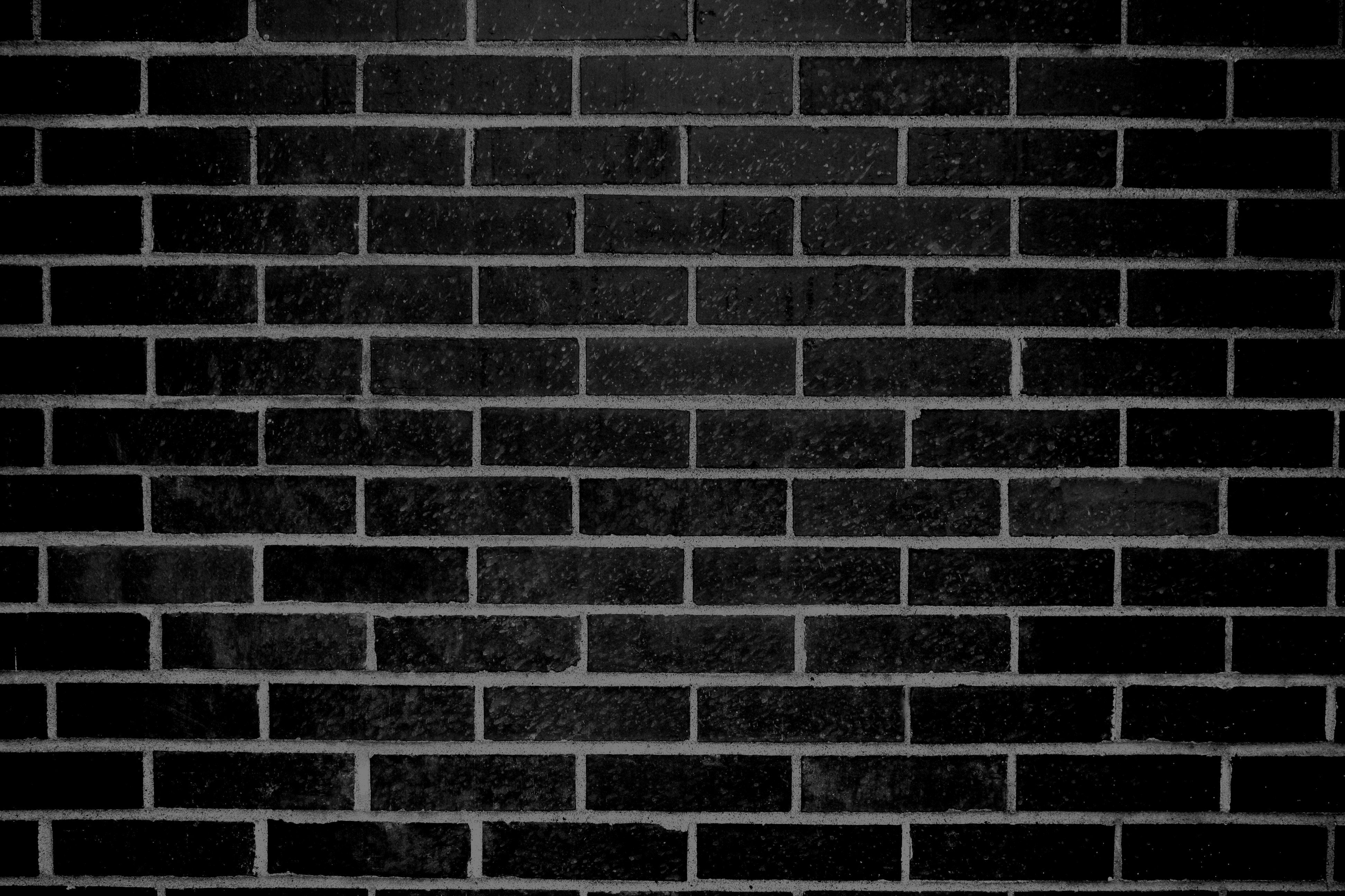 Black Brick Wall Texture Pinned By Modlar
