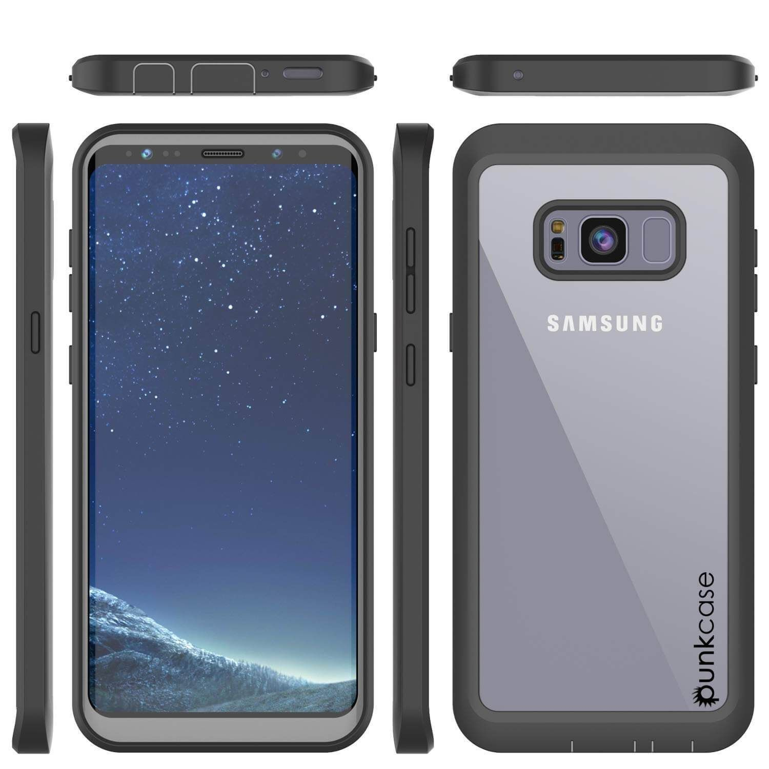 new arrival 20669 504ee Galaxy S8 Case, [Spartan Series] Clear Rugged Heavy Duty Cover W ...