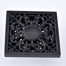 Photo of Floor Drains Oil Rubbed Bronze Shower Floor Drain Bathroom Deodorant Square Floo…