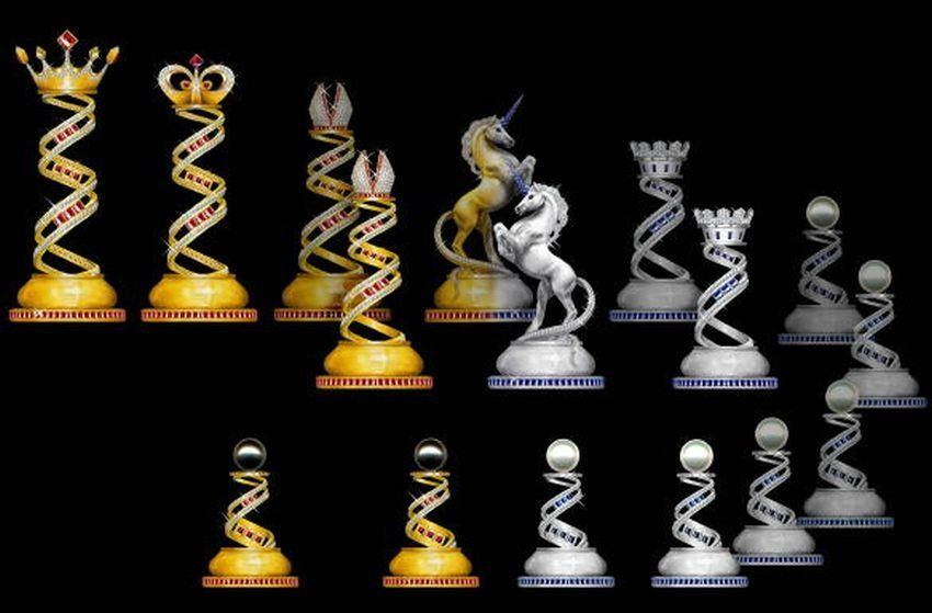 World's Most Expensive Chess Set Jewel Royale Chess Set