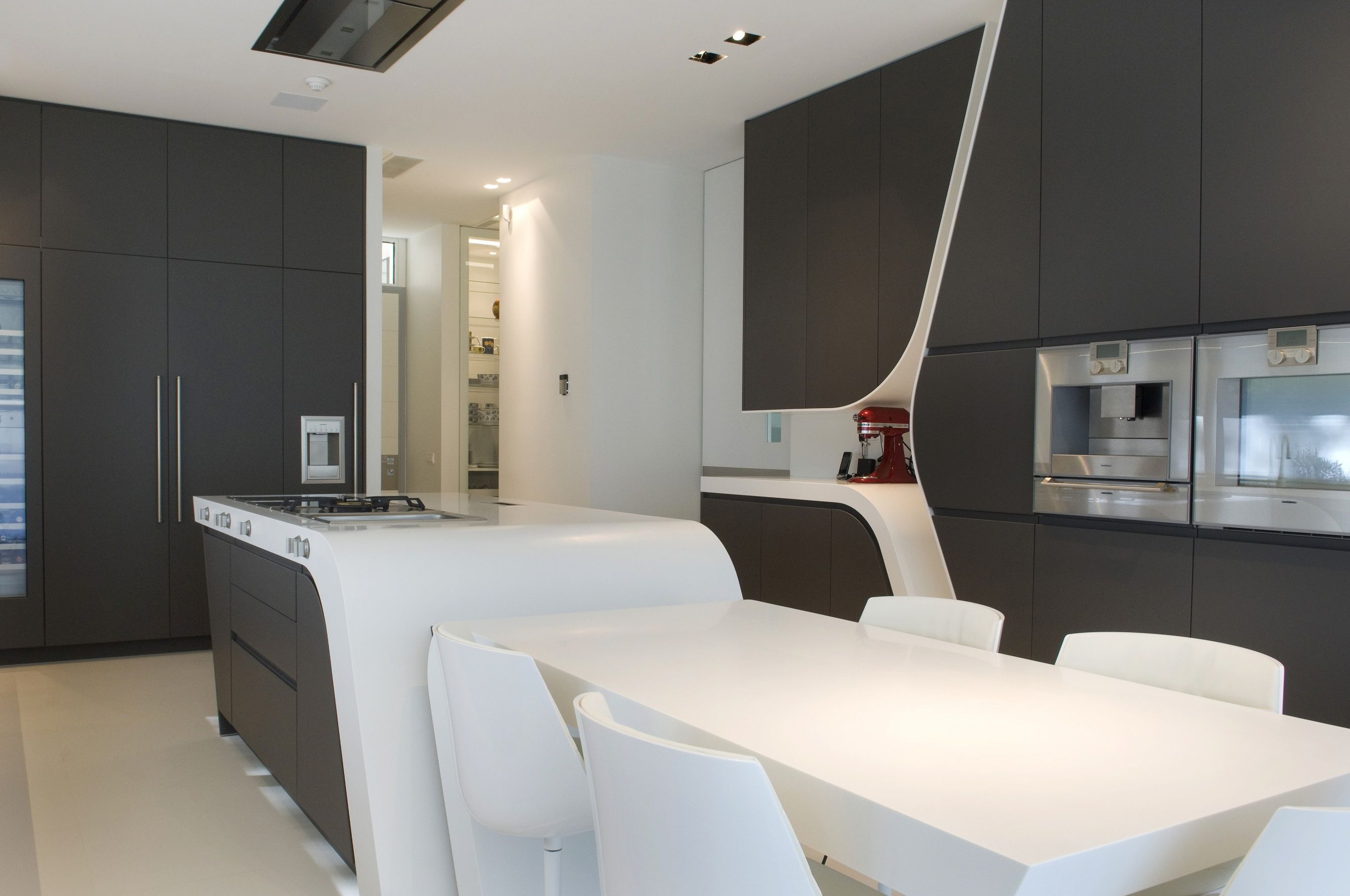 Modern kitchen memory house by a cero