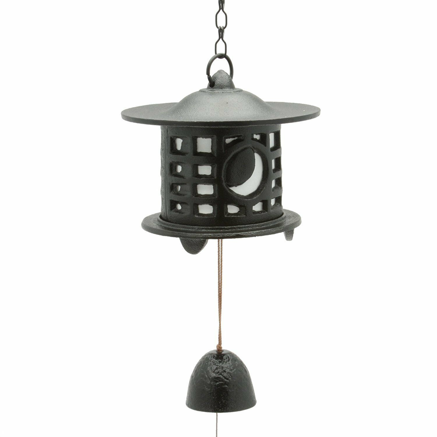 JAPANESE Nanbu Cast Iron Furin Wind Bell Chime Made in Japan