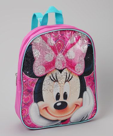 9d4d2e83726 Pink Minnie Mouse Sequin Backpack by Disney on Zulily