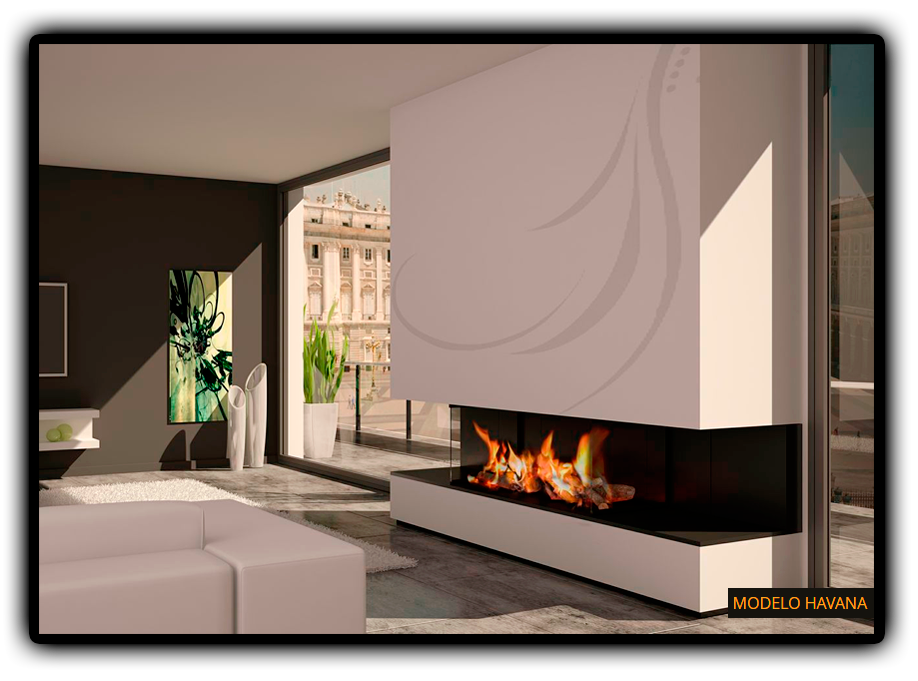 Salones con chimeneas modernas trendy ms de ideas increbles sobre sala de estar con chimenea en - Salones con chimeneas modernas ...