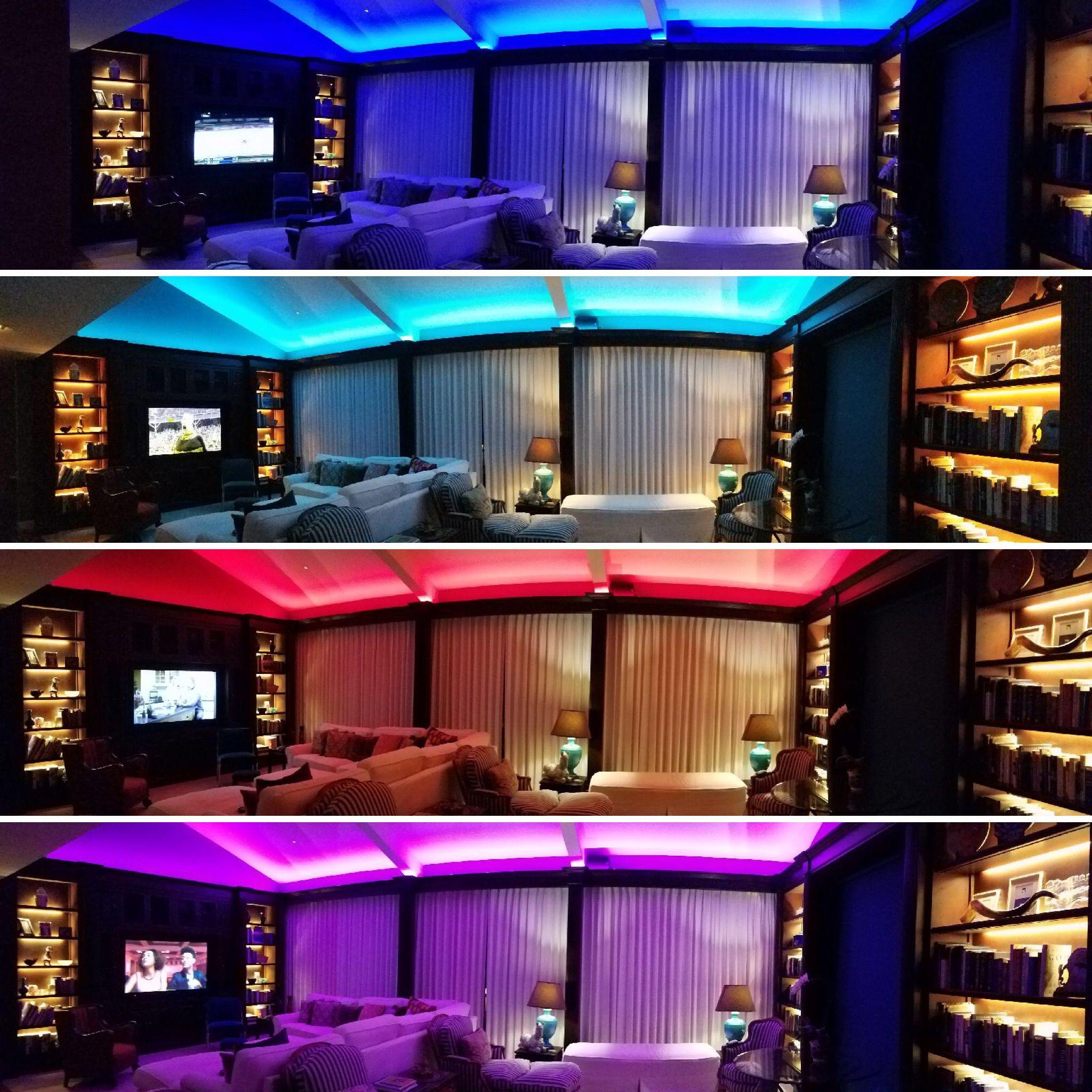 Rgb Color Changing Led Strip Light 120 Volt High Output Smd 5050 148 Feet Led Strip Lighting Color Changing Led Strip Lighting