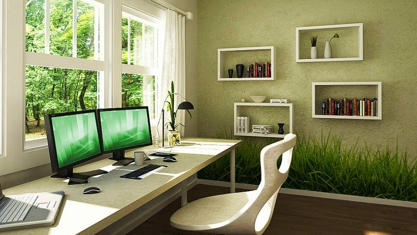 beautiful office colors incredible wall painting ideas for office
