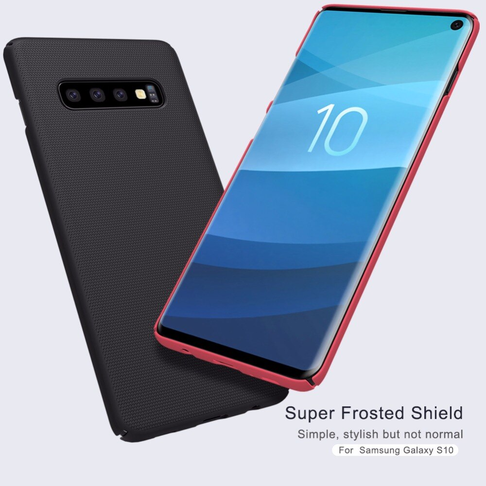 Case For Samsung Galaxy S10 S10 Plus Cover Super Frosted Shield Matte Hard Back Cover Case For Samsung S10 Plus S7 Em 2020 Celulares