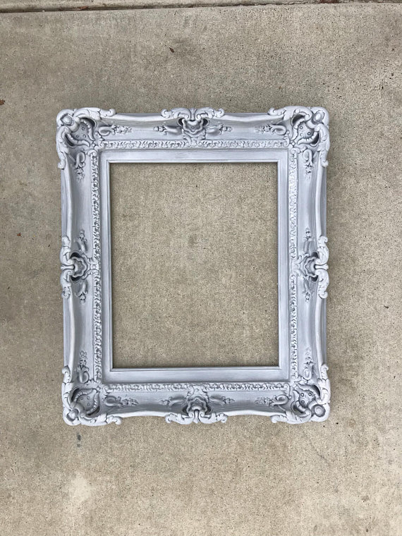 16x20 Vintage Shabby Chic Frames, Baroque Frame for Canvas, Large ...