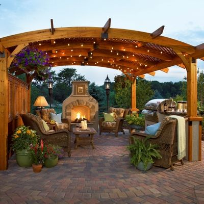 Best Sonoma 14 Room Package Backyard Gazebo Outdoor Rooms 640 x 480