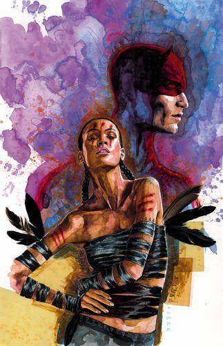Echo and Daredevil by David Mack