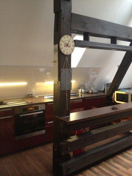 Homeier Downair (5) LED Leuchten mit 45 ° Winkel an der Schräge - küche mit schräge