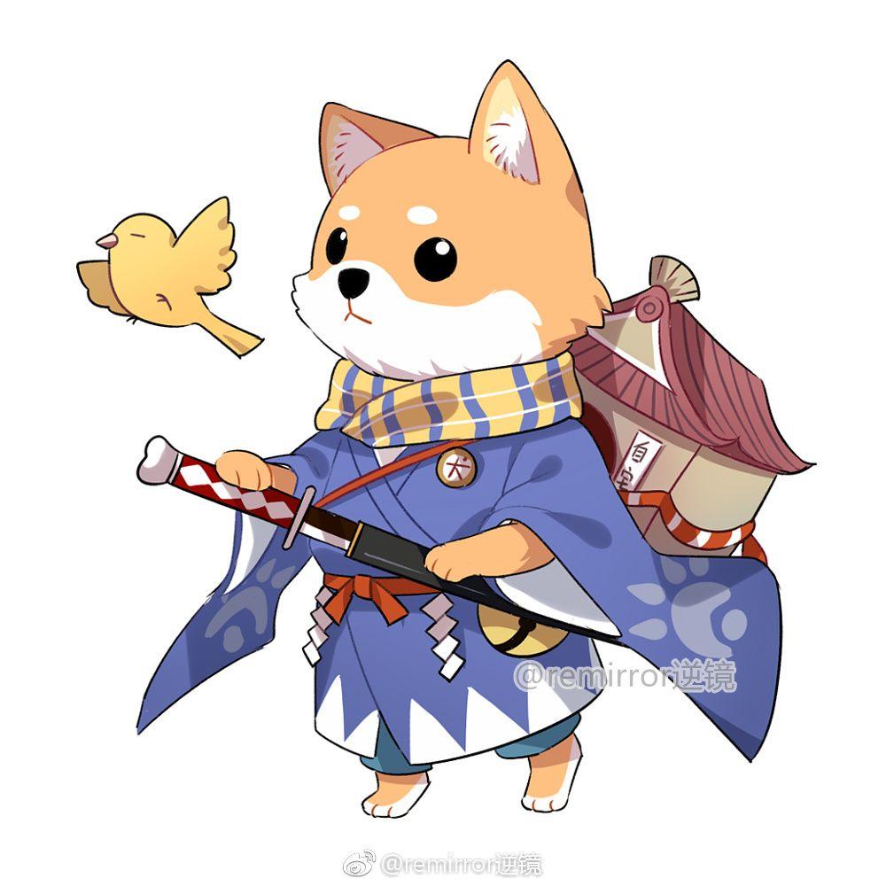 Pin by kanekibae on Onmyoji | Chibi dog, Chibi cat, Animal