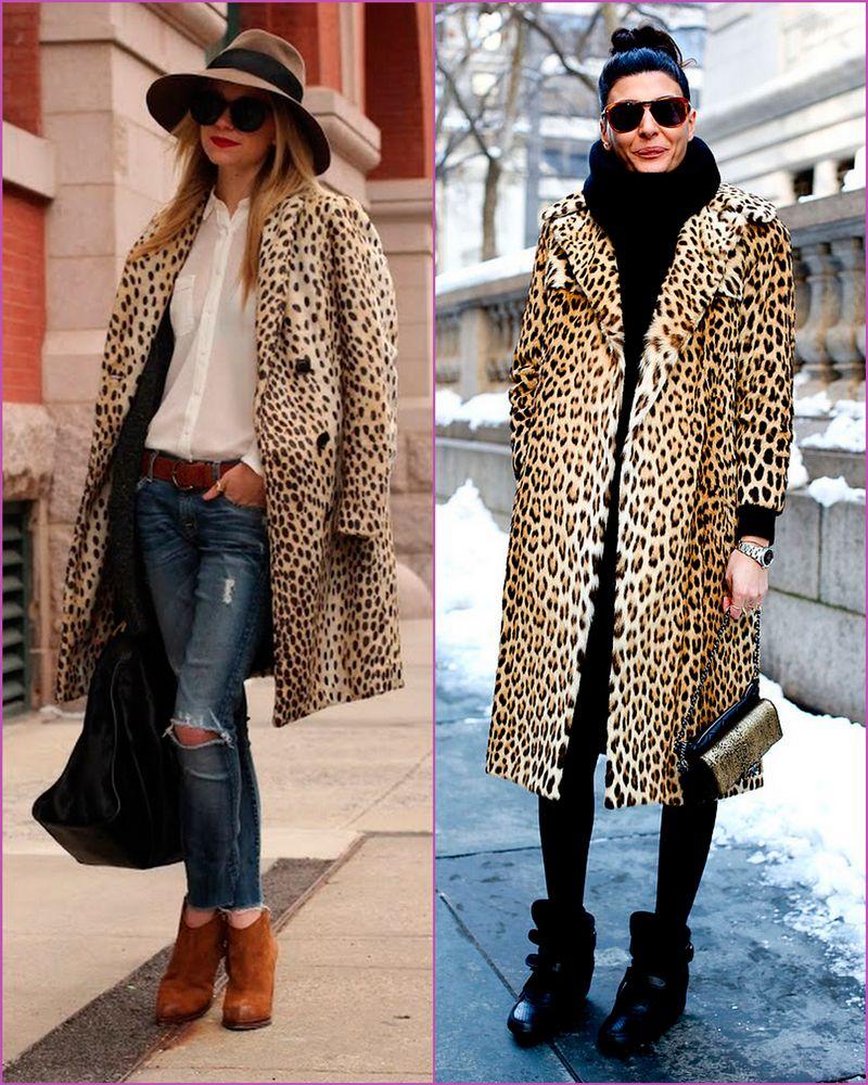 Leopard is the print! | Abrigos, Ropa de calle, Estilos de
