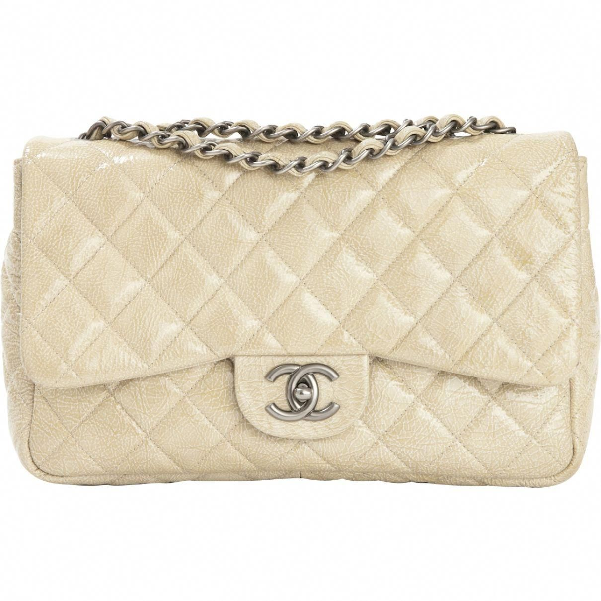 4155ce0f47d3 Chanel Beige Leather Handbag Timeless | Vestiaire Collective  #womenhandbagsResources